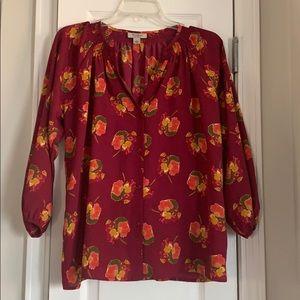 Tucker for target floral blouse
